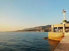 Break water Mytilene Lesbos (katerinamantani) Tags: breakwater lesbos mytilenesport aegeansea island