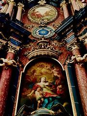 Prüm cathedral (judydeanclasen) Tags: eifel prümerdom dom angels cathedral elaborate marbel sculpture alterpiece brightcolour interiour