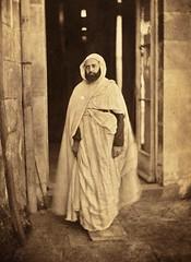 Al Amir Abd El Qadir, before 1856 (Benbouzid) Tags: امير الأمير عبد القادر الجزائري معسكر حاشم سوريا الجزائر إبن العربي صوفي الشريف abd el kader emir amir qadir