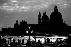 Venezia..... (pjarc) Tags: europe europa italy italia veneto venetian venice venezia ottobre october 2016 punta della salute dogana tramonto sunset città city silhouette ombre shadows architecture architettura bellezza beatiful bw black white nikon
