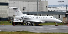 HB-VPG EMB 505 PHENOM (douglasbuick) Tags: aircraft private executive jet plane egpf glasgow airport aviation scotland flickr nikon d3300 hbvpg emb 505 phenom swiss switzerland