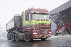 DAF XF 105-460 Space Cab (2013-2) (Martin Vonk) Tags: daf xf 105460 space cab van der wiel suiker unie zout zoutloods milieudienst groninen 161 ria volvo shovel esa