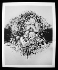 graphic (alla_badsar) Tags: art ink graphic men woomen fantasy love fineart penart black blackandwhite pendrawing handdrawings paintings daw illustration abstract artist inkart