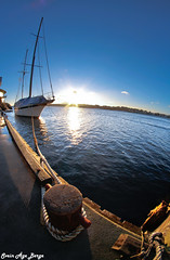 Sail boat at Knutsen Shippings quay (Syriax) Tags: sailboat knutsenshipping knutsenshippinghaugesund haugesund haugesundnorway haugesundnorge seilbåt haugesundseilbåtgammel