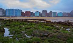Marea Baja (juan507es) Tags: gijón asturias mar mareabaja playasanlorenzo playa