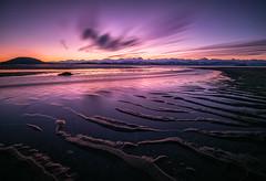 Eagle Beach, Juneau, Alaska (Dan Moran AK) Tags: juneau juneaualaska eaglebeach glacierhighway seascape sunset beach longexposure color mountains mountainscape bwnd110 clouds nikon d750 tokina1116 tokinaatx116prodxii water river winter wow