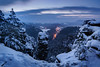 Winter Dawn (Philipp Zieger - www.philippzieger-photographie.de) Tags: schnee sächsischeschweiz elbsandsteingebirge landschaft winter landscape snow saxonyswitzerland felsen rocks sony a6500 deutschland germany sachsen saxony wandern hiking