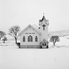 Church, near Dusty, Washington (austin granger) Tags: church dusty washington palouse snow winter religion christianity countrybiblechurch stark square film gf670