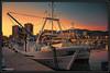 Nuevo Lance (EF-Typhoon) Tags: barco pesquero puerto amarre atardecer fuengirola málaga andalucía costadelsol sunset nuevolance hdr colores colors boat ship port embarcación náutico lonja slice mar mediterráneo pesca canon 70d 18200 eos atraque