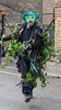 Green Man, Straw Bear, Whittlesey (Ken Barley) Tags: cambridgeshire greenman strawbear whittlesea whittlesey
