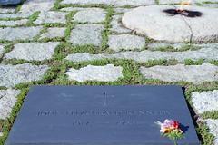 John F. Kennedy (Ian E. Abbott) Tags: johnfkennedy jfk presidentkennedy arlingtonnationalcemetery cemetery gravemarker eternalflame presidentoftheunitedstates unitedstatesofamerica usa presidents inspiration history nikonfilmcameras nikon filmcameras film nikonfm2