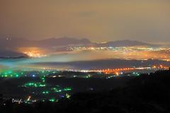 雲洞夜攝 (藍大衛) Tags: taiwan 三義 雲洞山莊 夜攝 雲海 琉璃
