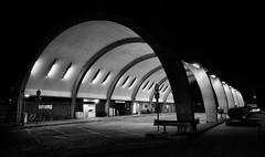 Newbury Park Bus Station (R~P~M) Tags: london england uk unitedkingdom greatbritain concrete bus station newburypark night