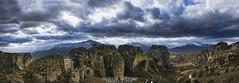 Meteora, Greece (Aggelos Kastoris) Tags: landscape sky magic colors black yellow outdoor mountain rocks meteora greece snow clouds nikon d7100 sigma 1750