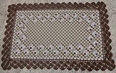 46 (AneloreSMaschke) Tags: bordado tecido xadrez artesanato handmade flores