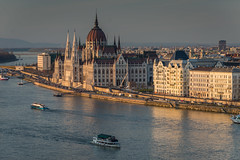 Hungarian parliament from Buda (redsk82) Tags: b river hungary budapest parliament danube hungarianparliament