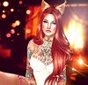 Pumpkin (Reika Enyo •Taking Clients) Tags: photoshop photography ginger avatar redhead sl secondlife edit paintover