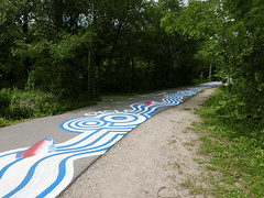 A-June2015 545 (PanAmPath.org) Tags: river for singing native earth x roadsworth june2015