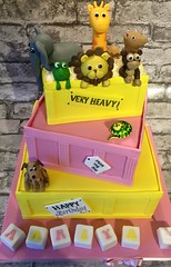 Dear Zoo Birthday Cake