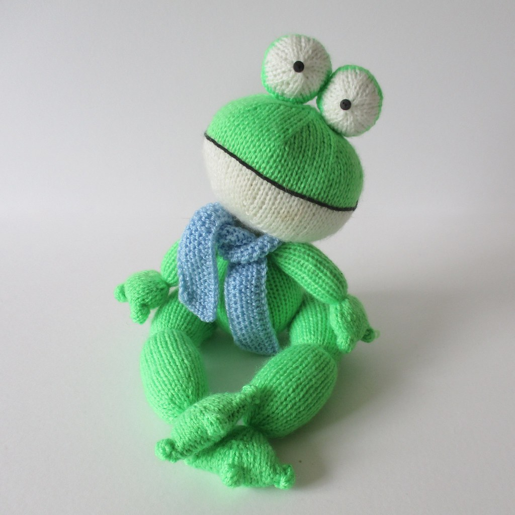 Knitted Frog Pattern : The Worlds Best Photos of frog and knitting - Flickr Hive Mind