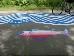 A-June2015 561 (PanAmPath.org) Tags: river for singing native earth x roadsworth june2015