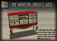 ..::TH::.. The Winerycab Radio red vendor