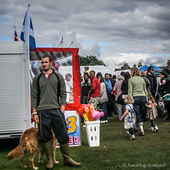 One Man and his Dog (FotoFling Scotland) Tags: aberdeenshire aboyne aboynehighlandgames dog event gathering highlandgames royaldeeside scotland iconic male scottish