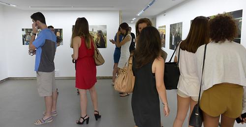 Vernissage de l'exposition de Vincent Rosenblatt à la Villa Pérochon© Darri