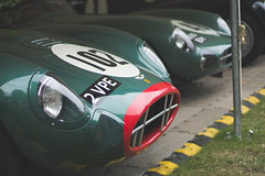 Aston Martin (ddolaher) Tags: green classic car race martin fos goodwood aston dbr1