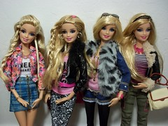 Sisters & Sisters!! (~EverFashionista216~) Tags: pink doll dolls barbie style glam mattel luxe fashionistas 2014 2015 lifeinthedreamhouse