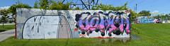 quickage-DSC_0668-DSC_0671 v2 (collations) Tags: ontario simon graffiti skateparks aorta pickering
