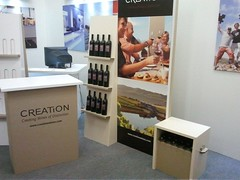 Free Standing Wine and Liquor Displays