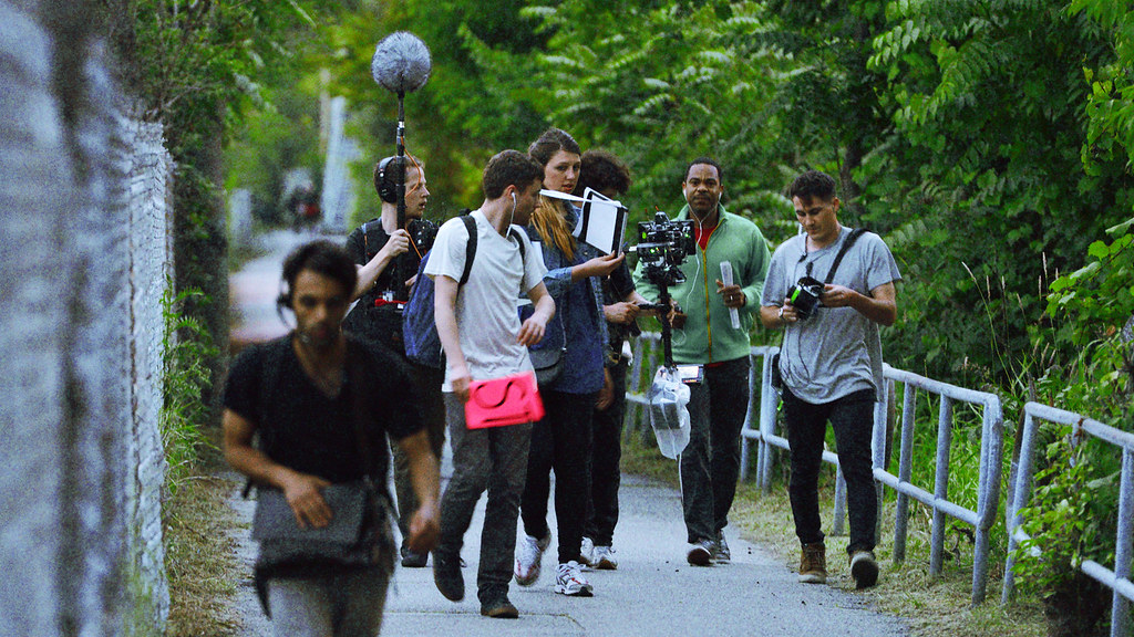 Seven people stride out across Toronto as part of an interactive film about unrequited love.
