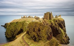 Dunnottar Castle (ShinyPhotoScotland) Tags: longexposure light sky panorama cliff sunlight colour building castle art abandoned nature lines rock clouds composition landscape scotland sandstone aberdeenshire emotion decay space gimp places rules calm motionblur northsea zen vista balance colourful geology awe striking distance contrasts tranquil imposing softlight headland lightanddark stonehaven elegance shapely sidelit conglomerate hugin painteffects leadinglines oldredsandstone rockstone nearfar dunnottarcastle tonemapped skyearth shapeandform spacefilling nd1000 naturehappens sony1855 darktable digitalbloom motionstationary mankindnature digitalgradnd digitallowpass digitalc2g digitalgmic timefulness nearmidfardistance