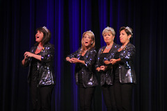 """Saturday Night Show (Barbershop Harmony Society) Tags: harmonyu2015 barbershop voice spebsqsa music conference competition singing bs """"barbershop harmony society"""" quartet"""" acapella joyful energetic youthful """"everyone harmony"""" """"carpe diem"""" brotherhood """"music making"""" """"keep whole world singing"""" storytellers """"lifelong """"maximize barbershop"""" """"moment makers"""" """"seize day"""" memories """"changing lives"""" """"community engagement"""" nostalgia """"pitch perfected"""" diverse diversity women female femalequartet womensquartet ladies costume crowns"""