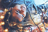 Winter fairytale (Arianna Mameli) Tags: portrait potraiture people girl woman lady christmas winter shades lights bokeh blur hair smile happyness gold golden