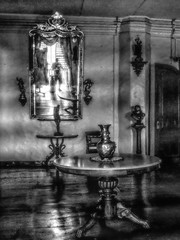 Imaging from another dimension (FotoGrazio) Tags: interior haunted selfportrait composition mirrorimage waynesgrazio mirror vigan landmark fotograzio reflection table oldbuilding philippines mysterious museum worldphotographer glare vase contrast gloomy historical waynegrazio dreamy photography mansion artofphotography digitalphotography antique blackandwhite architecture strange