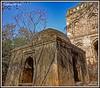Tughlak era Tomb near Bijri Khan's Tomb, Delhi. (Smit Sandhir) Tags: monument historical sony images heritage tughlak lodi photography dome tomb mosque delhi explore
