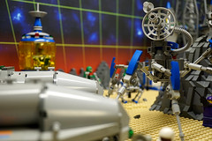George's World Phase 1 (steelcitylug) Tags: steel city lug lego space colony planet classic toy display pittsburgh
