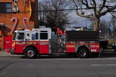 FDNY Engine 166 (Triborough) Tags: ny nyc newyork newyorkcity richmondcounty statenisland bullshead graniteville fdny newyorkcityfiredepartment firetruck fireengine engine engine166 kme
