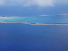 Flying in to Tuvalu!
