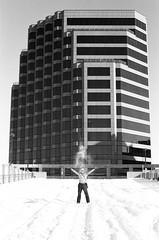 (jbrighamphotography) Tags: nikonf photomic nikon nikkor kodak tmax filmphotography streetphotography snow blackandwhite monochrome 400tmy