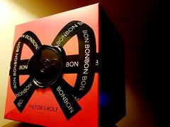 BonBon (I line photography) Tags: victorrolf bonbon perfume ladys packaging box decorated bow red black