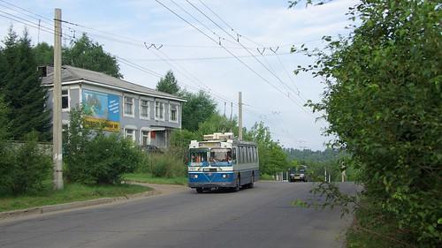 Irkutsk trolleybus ЗиУ-682Г-016.02 272 ©  trolleway