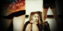 Waiting Her Warmup Turn (coollessons2004) Tags: dance dancing danseuse dancers danceteam dancer girl