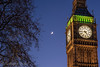 Under the Crescent Moon (Dreamzscape) Tags: nikon d750 london bigben city night lowlight moon sky tree beautiful uk