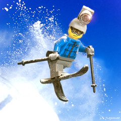 Go Pro⛷😁 (legomeee) Tags: lego gopro legophotography legography legominifigures legophoto legolife legofun ski