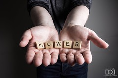 The Power Is In Your Hands (Forty-9) Tags: softbox efs1785mmf456isusm forty9 13thjanuary2017 january yongnuospeedliteyn560iv photr scrabble strobist tomoskay yongnuo lightroom canon strobism studio efslens eos60d power 13012017 2017 thepowerisinyourhands friday flash playonwords