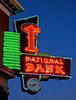 1st National Bank, Carlyle, IL (Robby Virus) Tags: carlyle illinois il first 1st national bank neon sign signage banking