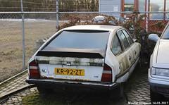 Citroën CX 25 GTI 1984 (XBXG) Tags: kr92zt citroën cx 25 gti 1984 citroëncx do almere nederland holland netherlands paysbas vintage old french classic car auto automobile voiture ancienne française france frankrijk vehicle outdoor abandonné abandonnée abandoned scrap junk rusty rouille rouillé rouillée rust